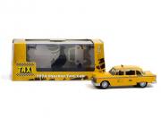 Divers . Checker taxi sunshine cab company #804 *taxi 1978-83 tv series*, jaune 1/43