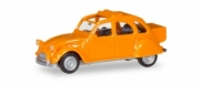 Citroen . version avec grand coffre orange 1/87