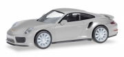 Porsche . Turbo bleu métallisé 1/87