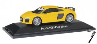 Scale 143 Audi R8 V10 Plus Vegas Yellow Herpa Speed Modelcom
