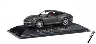 Porsche 911 Carrera coupé 911 II gris métallisé Carrera coupé 911 II gris métallisé 1/43