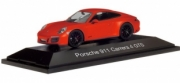 Porsche 911 Carrera GTS Orange, black rims Carrera 4 GTS orange 1/43