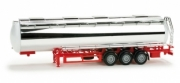 Divers . Chromium plated foodtank trailer 1/87