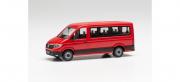 Volkswagen . Bus low roof, red 1/87