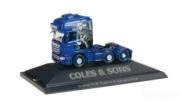 Scania . TL 6x2 Coles & Sons customs 1/87
