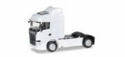Scania . Streamline Highline tracteur rigide blanc 1/87