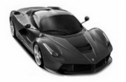 Ferrari LaFerrari noir Matt noir matt 1/24