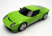Lamborghini Miura vert concept car vert 1/43