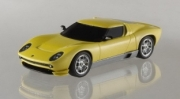 Lamborghini Miura yellow concept car yellow concept car 1/43