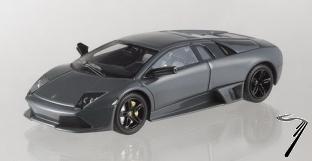 Lamborghini Murcielago LP 640 grise LP 640 grise 1/43