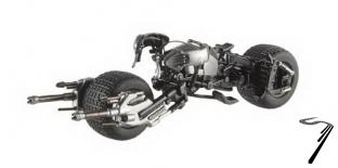 Divers Batmobile Batpod The Dark Knight Rises Batmobile Batpod The Dark Knight Rises 1/43