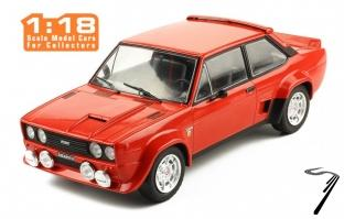 Fiat . Abarth rouge 1/18