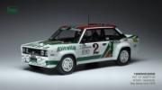 Fiat 131 Abarth 4ème Rallye Monte Carlo  1/18