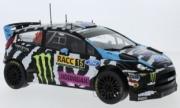 Ford Fiesta RS WRC 12ème rallye Catalogne  1/18