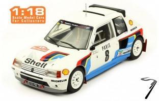 Peugeot 205 T16 5ème Rallye Monte Carlo  1/18