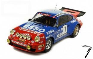 Porsche 911 Carrera RS 6ème rallye Monte Carlo  1/18