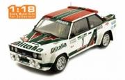 Fiat 131 Abarth 3ème rallye Portugal  1/18