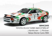 Toyota Celica GT  ST185 - 5eme Monte Carlo  1/18