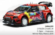 Citroen C3 WRC 1er Rallye du Mexique  1/24