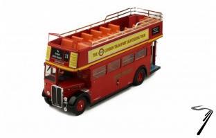 Divers . AEC Regent RT rouge bus de Londres 1/43