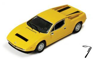 Maserati Merak SS jaune SS Jaune 1/43