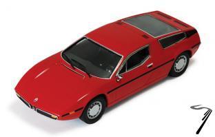 Maserati Bora rouge rouge 1/43