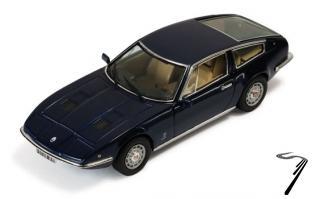 Maserati Indy bleu bleu 1/43