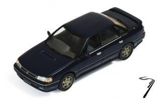 Subaru . 2.0 Turbo RS bleu 1/43