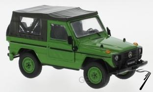 Mercedes . G SWB softtop vert 1/43