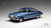 Jaguar . bleu clair métallisé 1/43