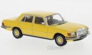 Mercedes . SEL jaune 1/43