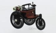 Mercedes . Patent Motorwagen noir / rouge 1/43