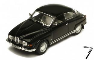 Saab . V4 noire 1/43