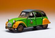 Citroen . verte orange Deuchie - 1€ versé pour chaque à l'association 1/43