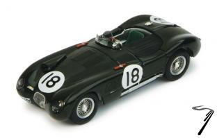 Jaguar XK 120C #18 1er 24H du Mans  1/43