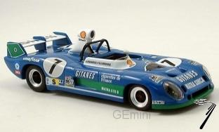 Matra MS 670B 1er 24H Le Mans   1/43
