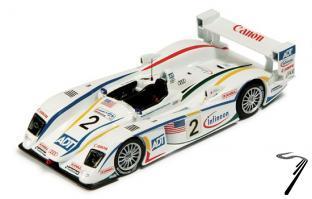 Audi R8 N°2 3ième 24H Le Mans  1/43