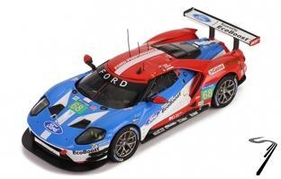 Ford GT #68  18ème 24h Le Mans - 1er GTE PRO  1/43
