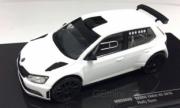 Skoda R5 blanc RS blanc 1/43