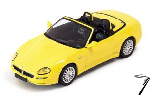Maserati Spyder Cambiocorsa jaune Spyder Jaune 1/43