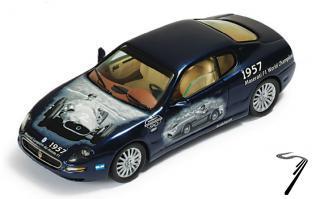 Maserati Coupe Cambiocorsa 90ième anniversaire 90ième Anniversaire Noir 1/43