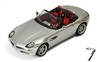 BMW Z8 argent métal argent métal 1/43