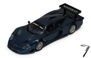 Maserati MC12 Version course bleu 12 version course bleu 1/43