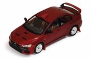 Mitsubishi Lancer Evo X groupe N rouge édition rallye  1/43
