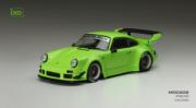 Porsche 930 RWB vert jantes noire RWB vert jantes noire 1/43