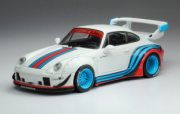 Porsche 993 RWB blanc Martini RWB blanc Martini 1/43