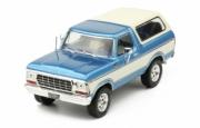 Ford . bleu/blanc 1/43