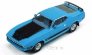 Ford . Mach 1 bleu 1/43