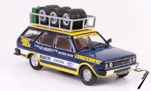 Fiat 131 Panorama assistance rallye Olio Fiat  1/43