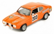 Ford Capri MKI #203 rallye Monte Carlo  1/43